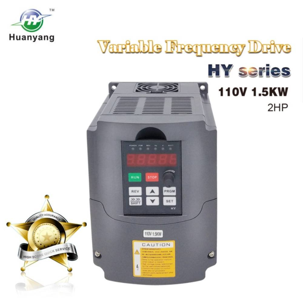 Vfd 110v 15kw 2hp Variable Frequency Drive Cnc Drives Wiring Diagram Inverter Converter For Spindle Motor Speed Control Huanyang Hy Series15kw