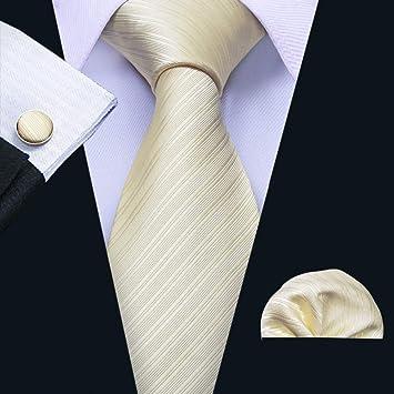 KDSXMLS Corbata 100% Seda De Los Hombres Fábrica Corbatas Pañuelo ...