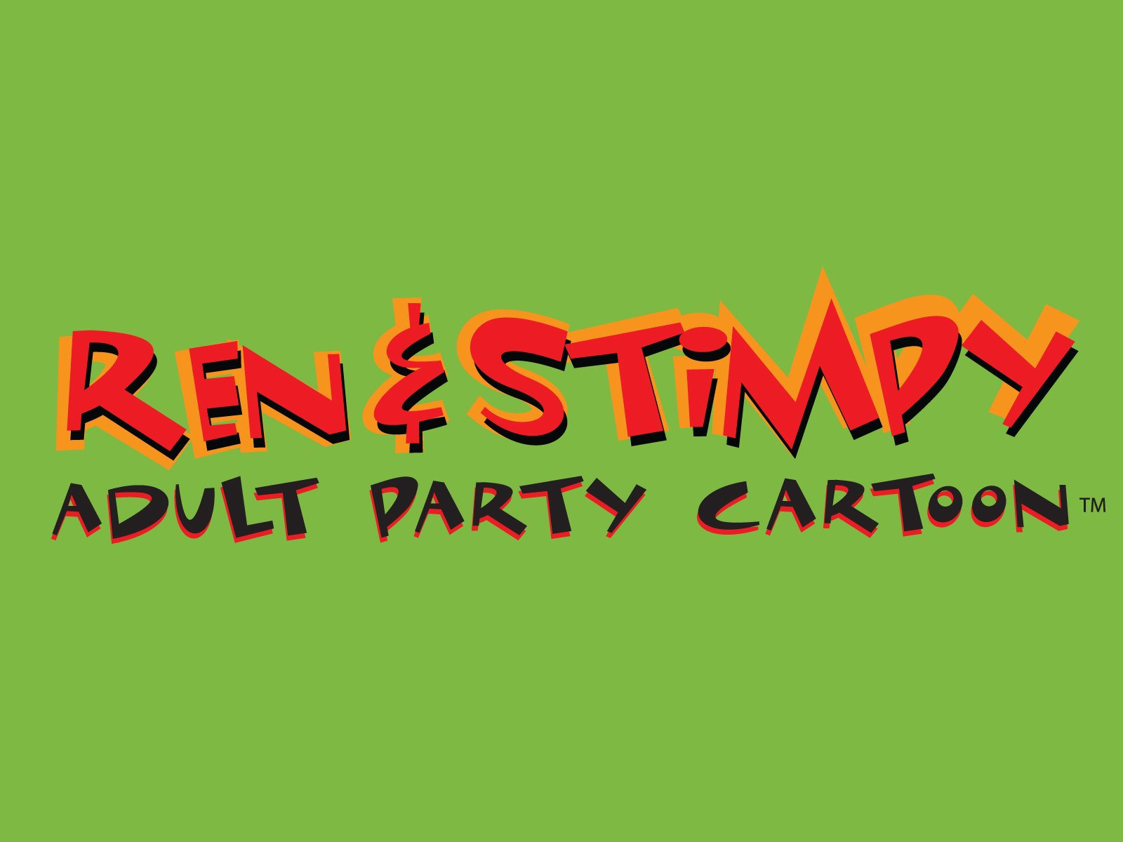 Adult party cartoon