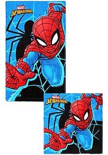 Baumwolle Geschenk f/ür Jungen Spiderman 2er P Kinder Handtuch G/ästetuch Gesichtstuch w/ählbar: Spiderman Batman Transformers Star Wars Avengers Superman