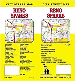 Reno and Sparks, NV Street map: G. M. Johnson: 9781926532219: Amazon Map Of Reno on map of cerritos, map of high desert, map of carlin, map of agawam, map of unr, map of kewaunee, map of the san francisco, map of tampa st petersburg, map of colonial heights, map of hadley, map nv, map of ironwood, map of valley of fire, map of ritzville, map nevada, map of west acres, map of pleasant valley, map of central ma, map of fernley, map of monterrey mx,
