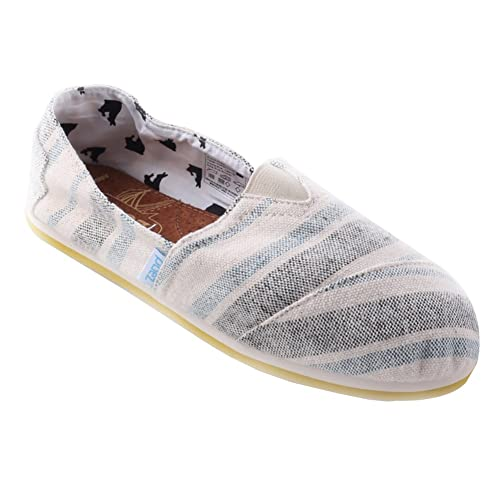 PAEZ Womens TROYA COLLECTION Canvas Alpargatas (5, Aquiles)