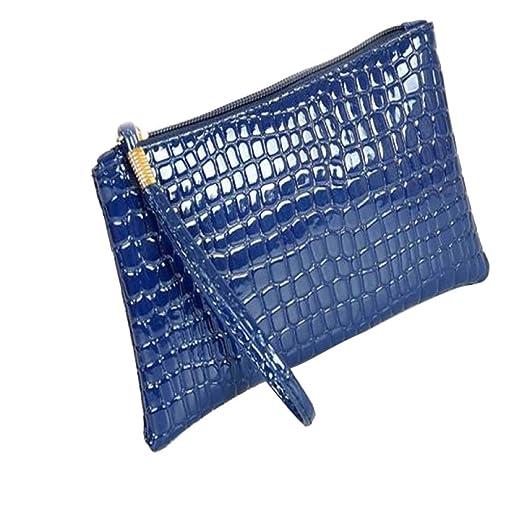 592f960c7015 Amazon.com: HYSGM Women Wallet, Fashion Crocodile Leather Patterned ...