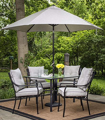 Hanover LAVALLETTEUMB Table Umbrella for The Lavallette Collection Outdoor Dining Set