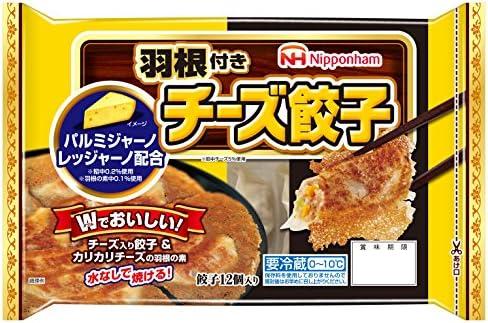 [冷蔵] 日本ハム 羽根付きチーズ餃子 162g