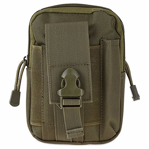 1000D Oxford Waist Bag Compatible Tactical Molle EDC Outdoor Gear Travel Cycling Camping Hiking Sports Bag by OutdoorCrazyShopping