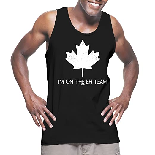 52fc567e7a2abe Amazon.com  Men s I m On The Eh Team Tank Top  Clothing