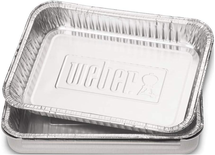 Weber 6416 - Bandejas Aluminio Grandes