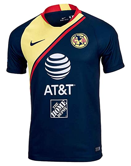 6aec21355a1 Image Unavailable. Image not available for. Color  Nike Club America Away  Youth Stadium Soccer Jersey 2018 19 ...