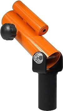 "360° Swivel Fit 2"" Olympic Bars for Back T-Bar Row Plate Post Insert Landmine"
