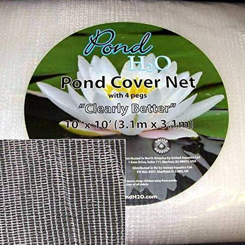 Clearly Better Cover Pond Netting Size: 18 ft x 18 ft
