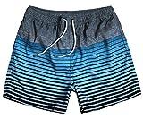 WUAMBO Athletic Men's Fashion Swimwear Beach Holiday Hawaii Shorts Waist 34''-36''