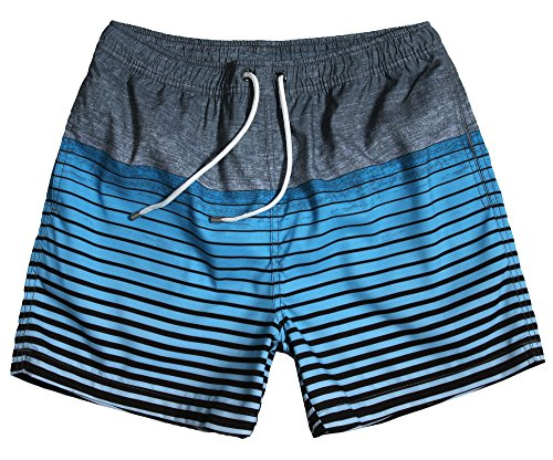 WUAMBO Athletic Men's Fashion Swimwear Beach Holiday Hawaii Shorts Waist 28