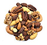 macadamia nuts organic roasted - Anna and Sarah Roasted & Salted Premium Mixed Nuts (No Peanuts) in Resealable Bag, 2 Lbs