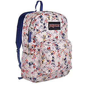 JanSport Disney Superbreak Backpack (One Size, Disney Minnie Tiny Floral)