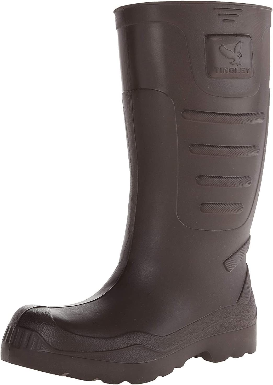 """PR Brown 15/"""" Height Plain Size  12 TINGLEY 21144 Airgo Boots"""