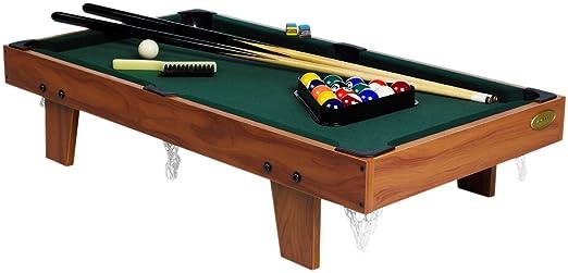 4 opinioni per Gamesson- Tavolo da biliardo in legno 91 x 48 x 20 cm