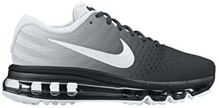 sneakers for cheap 4606b db75c Nike Boys Air Max 2017 GS, Black and White 4 UK