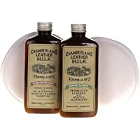 Chamberlain's Leather Milk Formula No. 2 & 5 - Straight Cleaner and Furniture Treatment Made in the USA