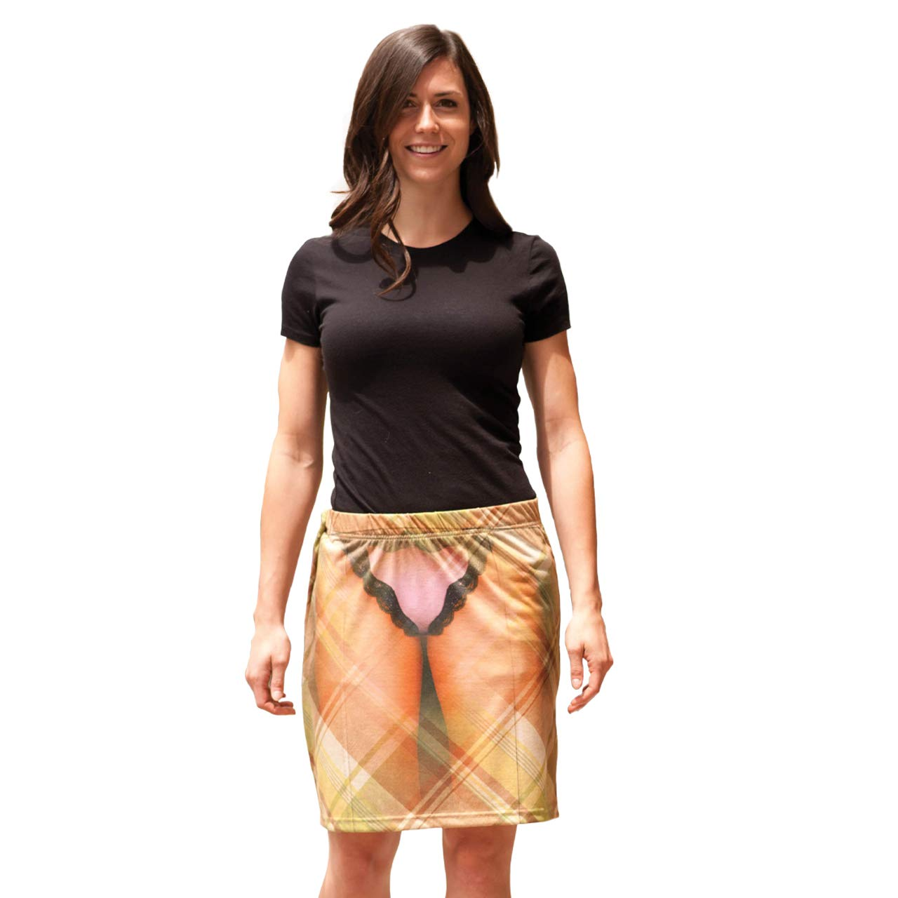 Faux Real X-Ray Vision Skirt