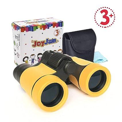 Juguetes para Niños DE 4-6 años, Joy-Jam Binoculares de Juguete al Aire Libre para Niños, Regalos para Niñas DE 3-6 años Amarillo Regalos de ...