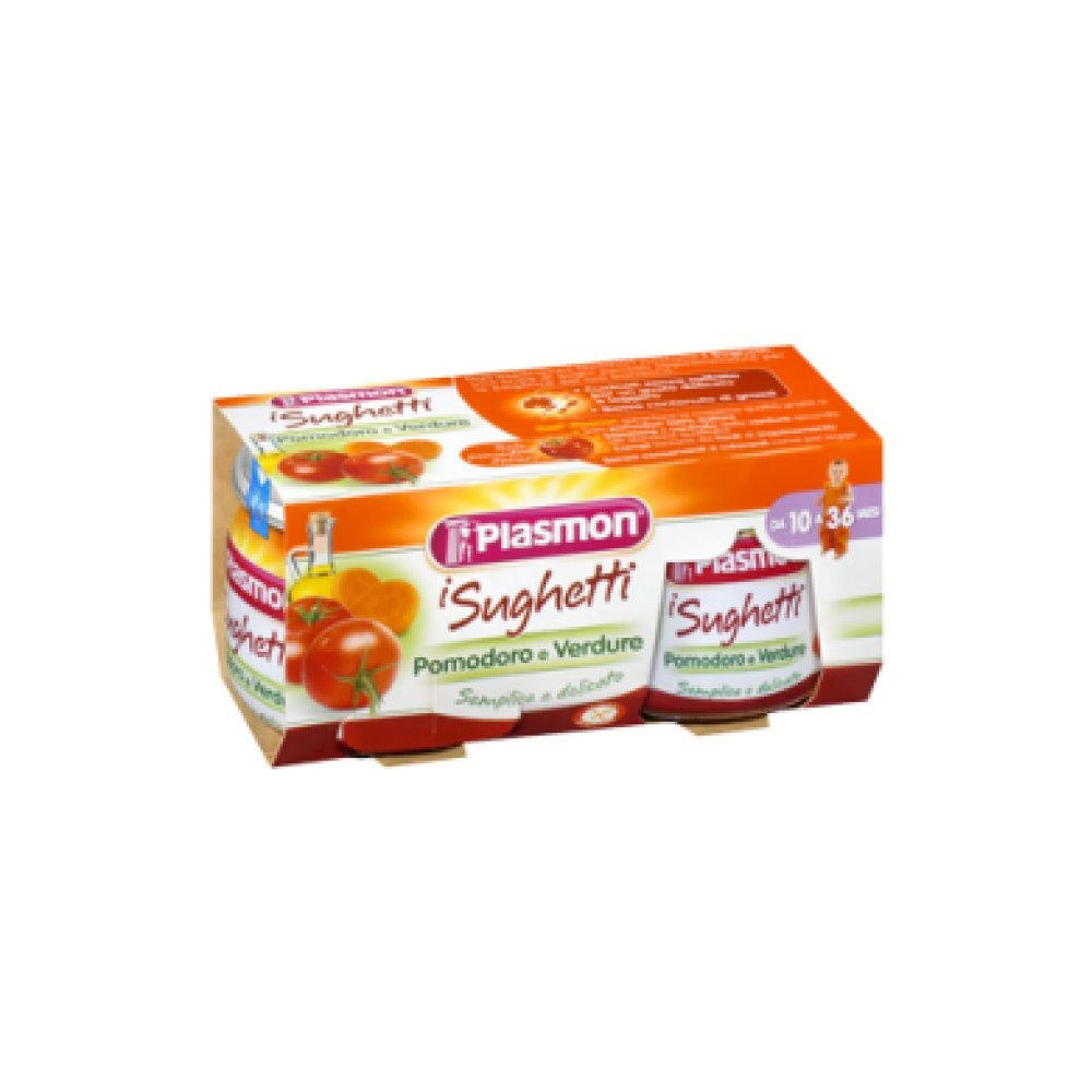 Plasmon Tomato and Vegetables Sauce (2x80g) 70115600