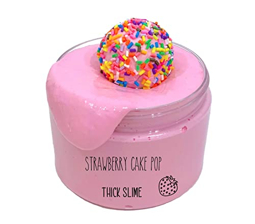 raspberries and cream *SCENTED* thick and glossy slime