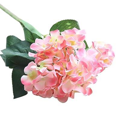 Amazon Artificial Silk Fake Flowers Cywulin Hydrangea Faux