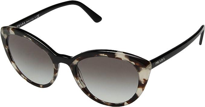Prada 0PR 02VS, Gafas de sol para Mujer, Opal Spotted Brown ...