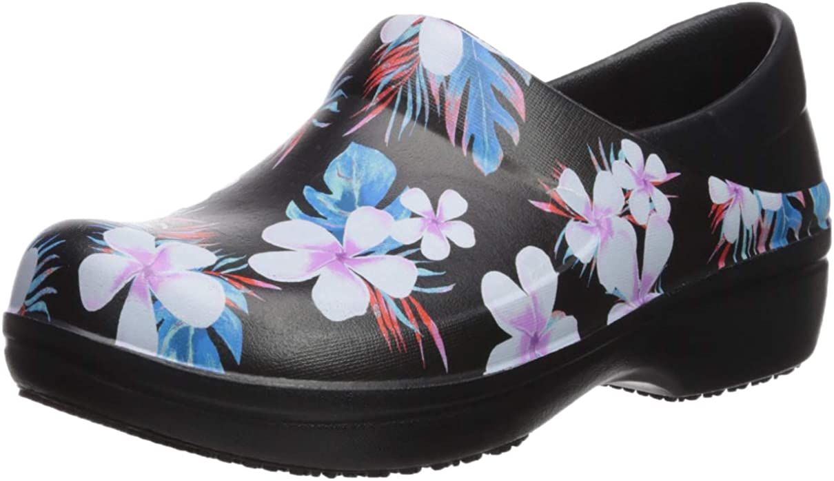Crocs Women's Neria Pro Ii Clog   Slip Resistant Work Shoes