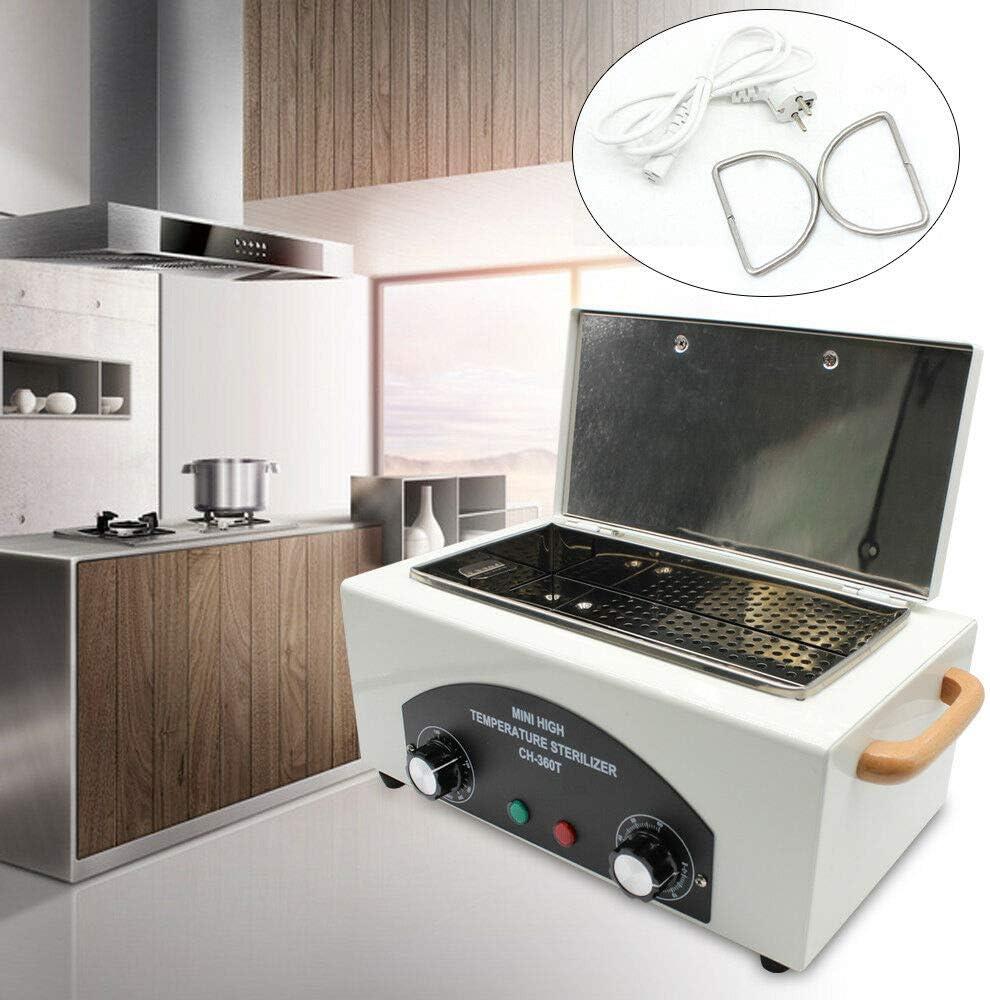 50-220℃ St/érilisateur /à chaleur s/èche 1.9L D/ésinfectant le cabinet utilis/é pour les laboratoires traiteurs services salons de beaut/é St/érilisateur /à air chaud