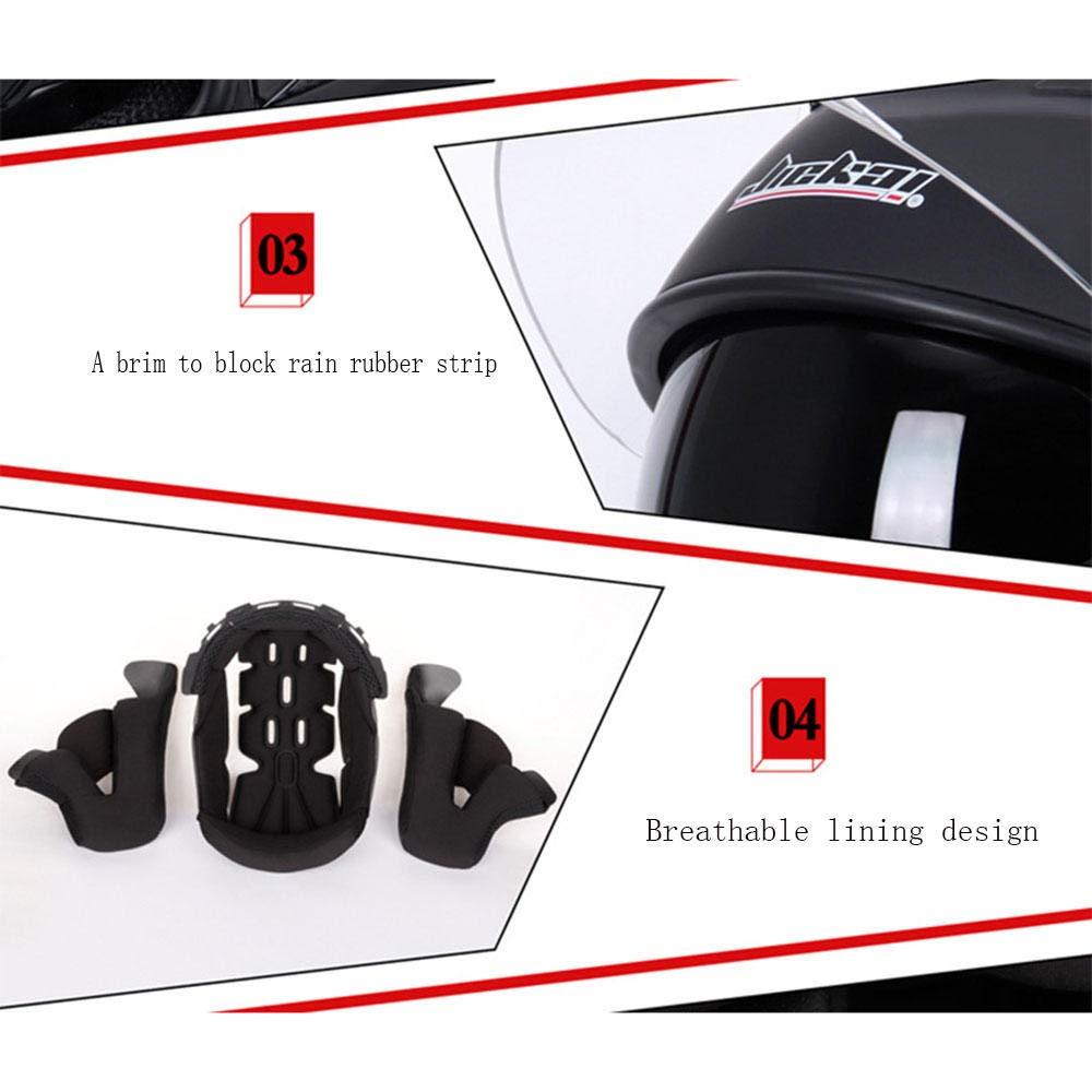 per Mountain Bike Downhill Endurance Race ATV MTB-SK-00311 Specchio tras AOPOY Adulti Casco da Moto Integrale Fuoristrada Casco per Incidente Down Casco da Discesa Uomo e Donna da Corsa Fuoristrada