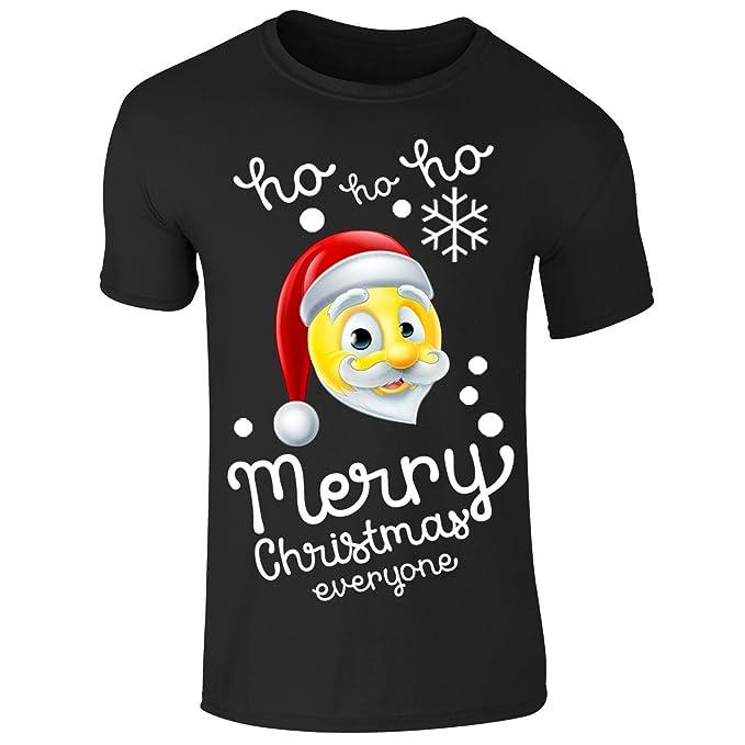 Frohe Weihnachten Männer Bilder.Neue Männer Frohe Weihnachten Emoji Sankt Ho Ho Ho T Shirt