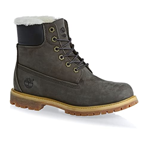 8681baf0fc578 Timberland 6 INCH PREMIUM BOOT SHEARLING LINED donna  Amazon.it  Scarpe e  borse