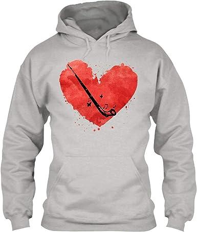 I Love My Alphorn Tee Shirt Hoodie Sweatshirt