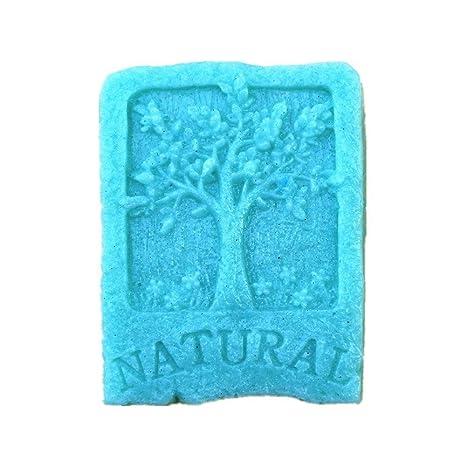Allforhome Molde de silicona natural para fabricar jabón artesanal