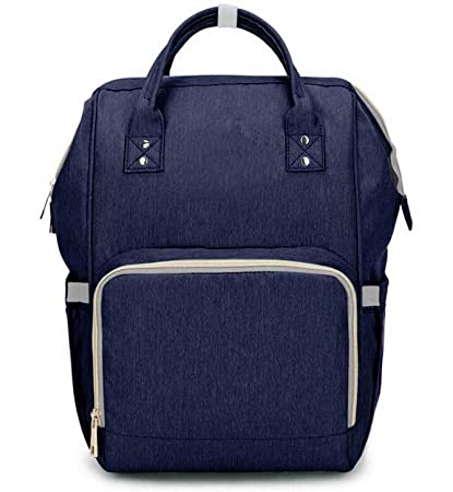 Baby Bucket Maternity Cum Travelling Baby Backpack (0 to 24 Months, Navy Blue)