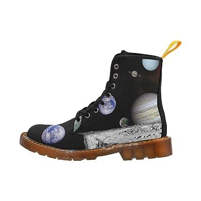 LEINTEREST Planet Martin Boots Fashion Shoes For Women