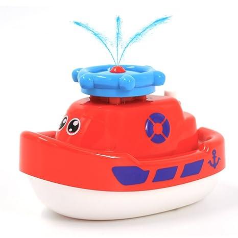SUNLIKE Juguetes de baño para bebés y niños, para bañera o bañera, multicolor
