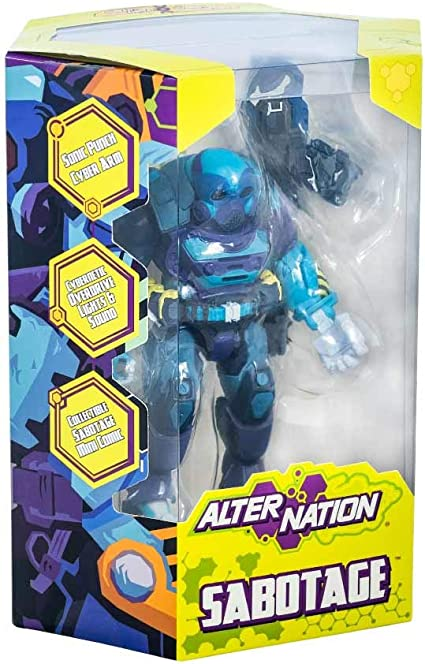 Alter Nation Action Figure by Panda Mony Sabotage
