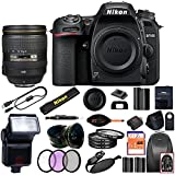 Nikon D7500 DSLR Camera With 18-140mm ED VR Lens - Includes Manufacturer Supplied Accessories (24-120mm Lens, Advanced Bundle)