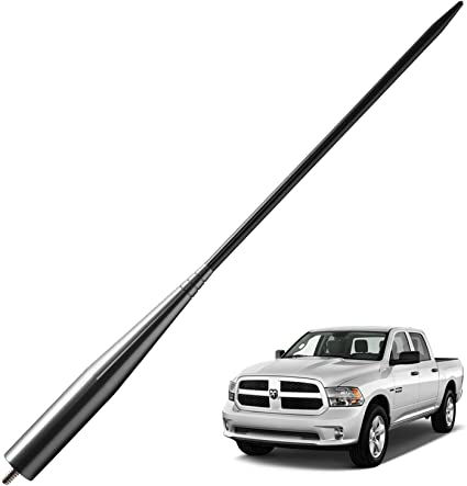 13 inches Flexible Rubber Antenna Replacement fit for Dodge Ram 1500 Truck 2012-2020 Accessories