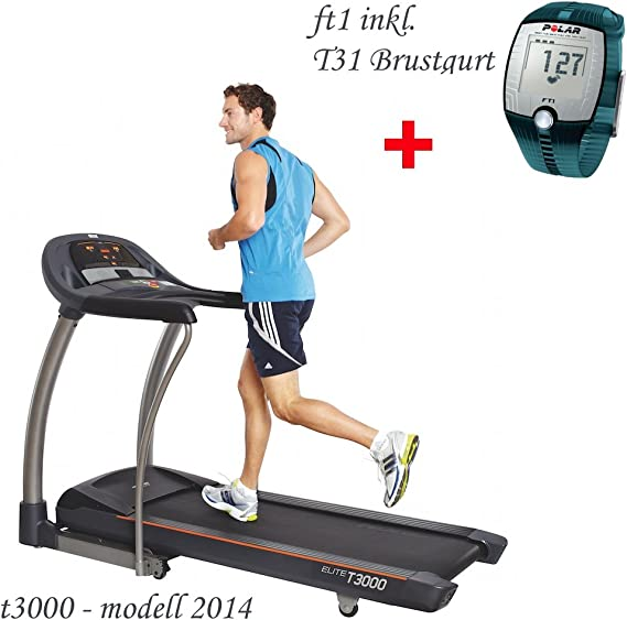 Horizon Cinta de Correr Fitness T3000 Elite – Incluye FT1 ...