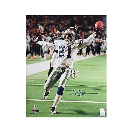 7e882945c Image Unavailable. Image not available for. Color  Deion Sanders Autographed  Dallas Cowboys 16x20 Photo - JSA COA ...