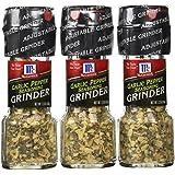 McCormick - Garlic Pepper Seasoning - 1.23-Oz. Grinder (Pack of 3)
