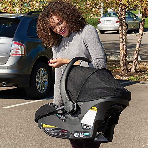 618L6Zop8KL - Pivot Xpand Modular Travel System With SafeMax Infant Car Seat, Stallion Black