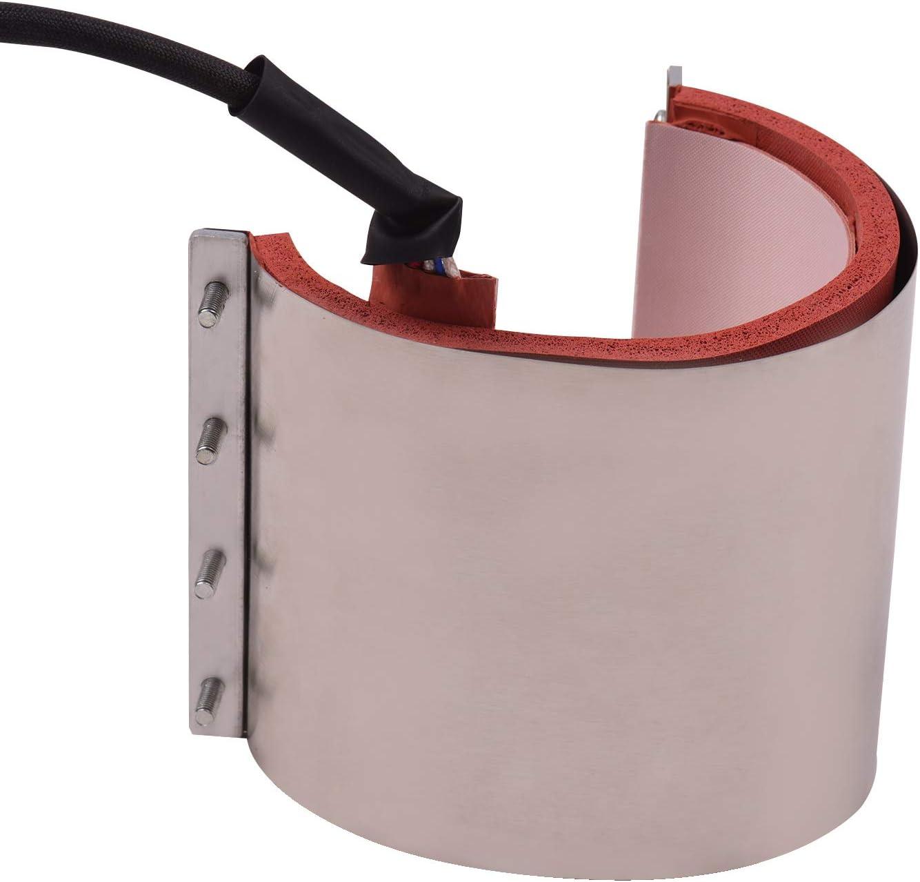 110 V per stampa a sublimazione di trasferimento della pressa di calore 12 * 23,5 cm Leader-cloth Aibecy Tazza Tazza Pressa Riscaldamento Trasferimento Attacco Gel di silice 11 once