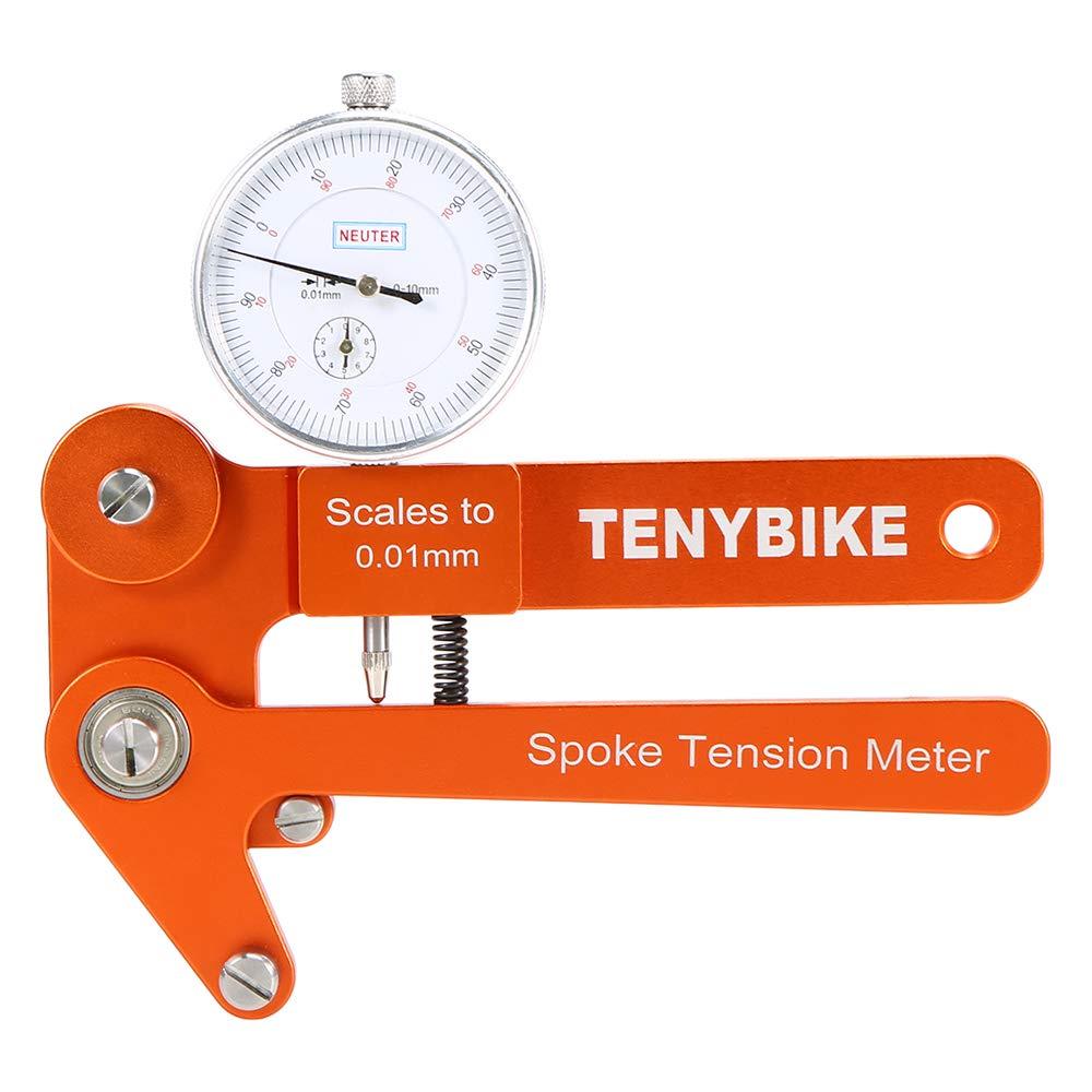 Walmeck- Bike Spoke Tension Meter Cycling Wheel Spoke Tensiometer Bicycle Wheel Builders Measurement Tool by Walmeck-
