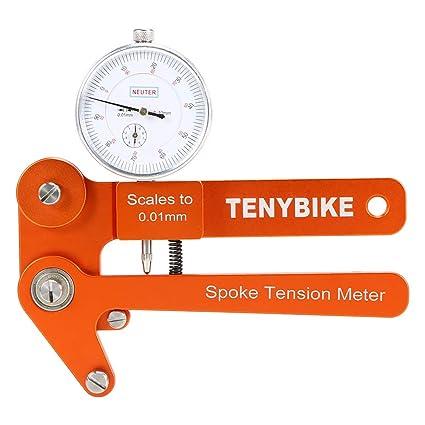 Bike Spoke Tension Mechanical Meter Bicycle Wheel Builders Tool