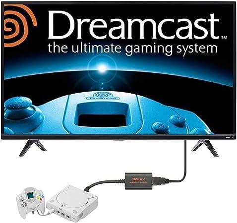 CAMWAY HDMI Kabel f/ür Sega Dreamcast DC Konsole Sega Dreamcast zu HDMI Konverter Adapter Plug /& Play